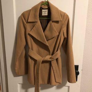 Old Navy tan pea coat